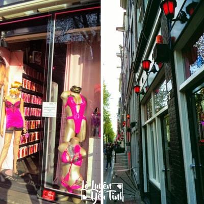 Sex shop tại phố đèn đỏ