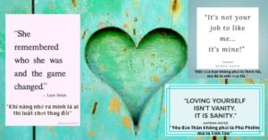 [Love]: Yêu Bản Thân – Self Love (part 1)