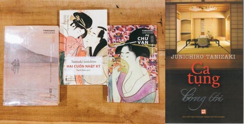 Các sách của Tanizaki Junichiro