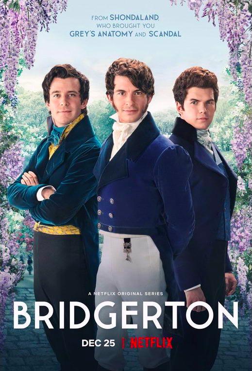Bridgerton, The Duke and I, Anthony, Benedict, Colin